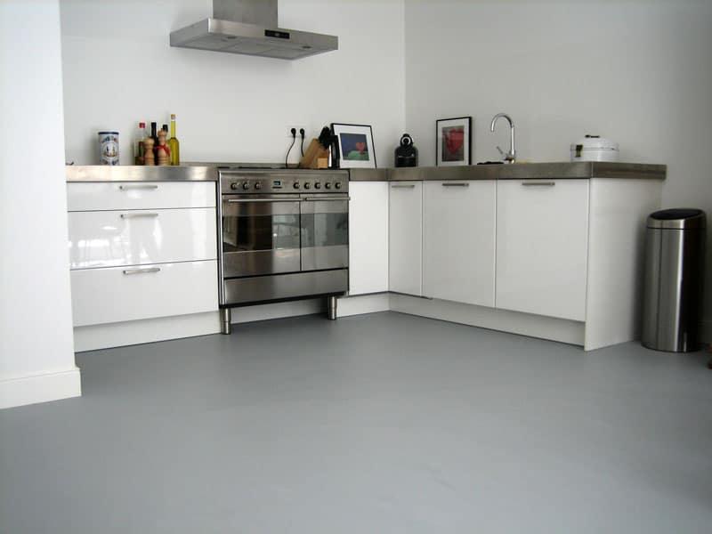 Gietvloer Kitchens Keuken : Betonlook gietvloeren kunststof gietvloer